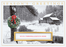 Winter Retreat Holiday Cards